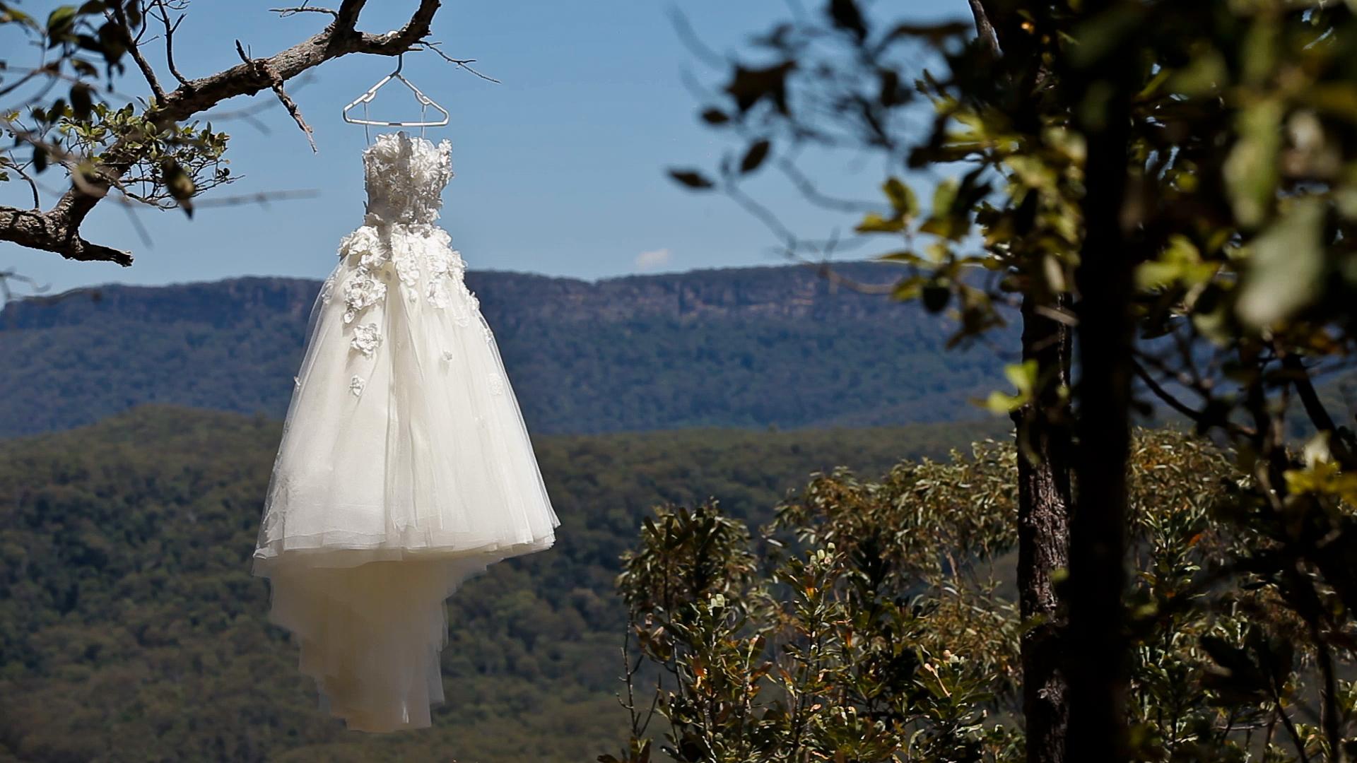 Rebecca Breeds And Luke Mitchells Wedding